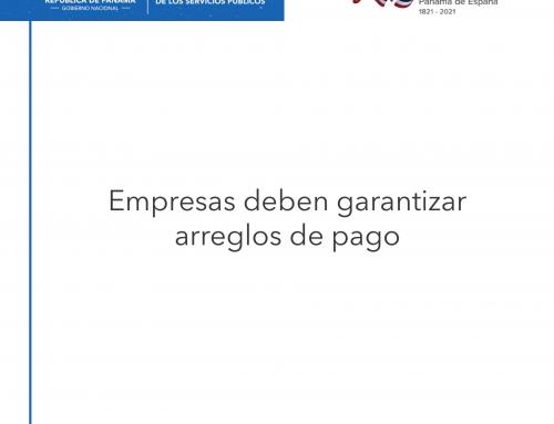 ASEP RECONSIDERA MEDIDA POR CORTES ENERGÍA ELÉCTRICA