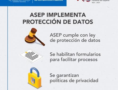 ASEP PREPARADA ANTE LA VIGENCIA DE LA LEY DE PROTECCIÓN DE DATOS