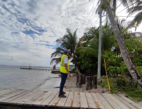 ASEP realiza inspecciones a red eléctrica de Bocas del Toro